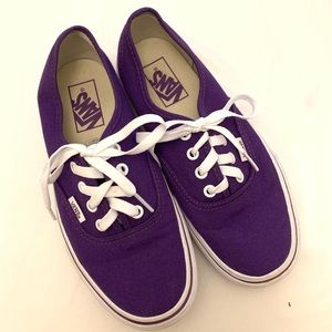 Vans Dark Purple Shoes